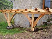 Terrasse en Savoie / En cours