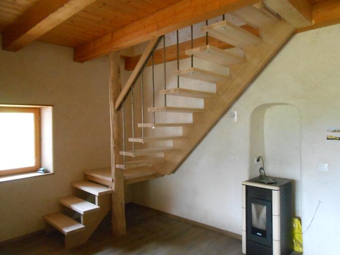 escalier Bauges apercu general