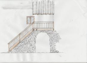 projet escalier balcon